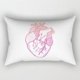 Designer Heart Rectangular Pillow