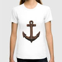 anchors T-shirts featuring Anchors Away! by eMJay Digital Art