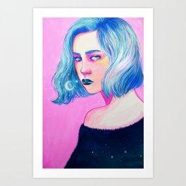 Gouache Study Art Print