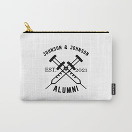 J&J Alumni Vaccinated Carry-All Pouch