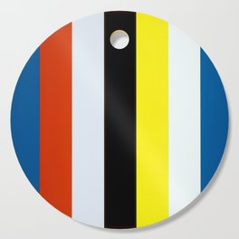 Ellsworth Kelly Red Yellow Blue White and Black Cutting Board