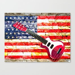 Sounds of America Canvas Print