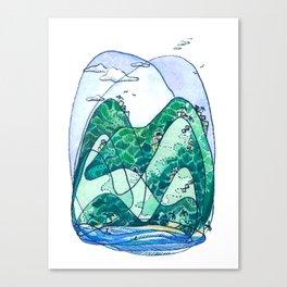 Rincon Hills Canvas Print