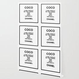 coco quote no. 5 Wallpaper