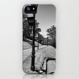 Garden Path Lighting iPhone Case