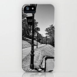 Garden Path Lighting iPhone Case