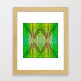 digital texture Framed Art Print