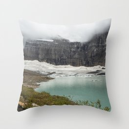 Grinnell Glacier - Expiration Date 2030 Throw Pillow