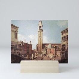 Canaletto - View of Campo Santi Apostoli Mini Art Print