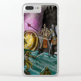 Ambush at the Entry Cave Clear iPhone Case
