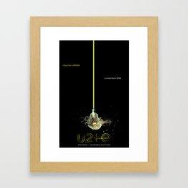 Innocence Shattered: I+E Tour print Framed Art Print