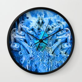 Medusa Metamorphosis Wall Clock