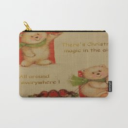 THE MAGIC OF CHRISTMAS Carry-All Pouch