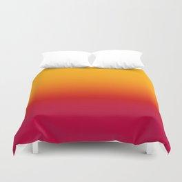 sunSET Ombre Gradient Duvet Cover