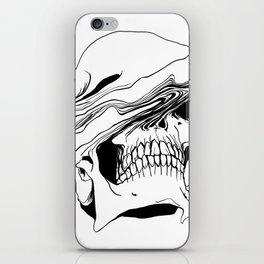 Skull (Liquify) iPhone Skin
