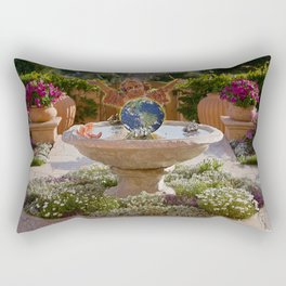 The Garden of Eden Rectangular Pillow