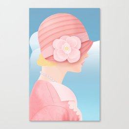 Edith on a Spring Day Canvas Print