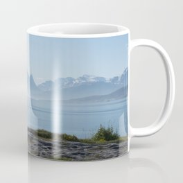 Photograph in Norway in moring Coffee Mug
