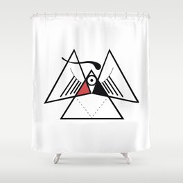 Obvious Shower Curtain