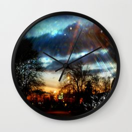 Leading Me Home Wall Clock