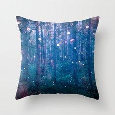 Fairy Lights Throw Pillow