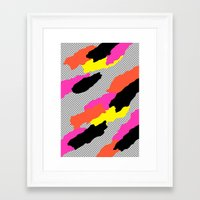 mars Framed Art Prints featuring Mars by Tyler Spangler