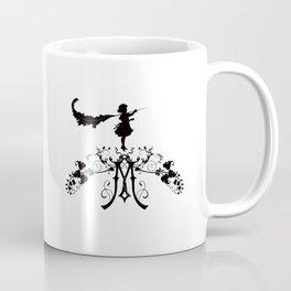 Girl with feather M Coffee Mug