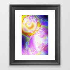 True Space Oddity abstract Framed Art Print