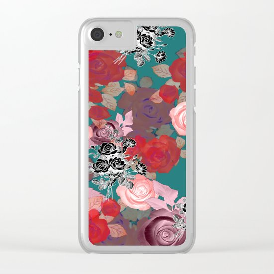 RoseNRoses 2 Clear iPhone Case