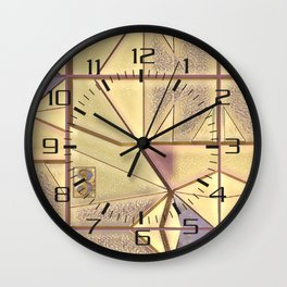 Kit In Abstract Wall Clock