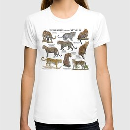 Leopards of the world T-shirt
