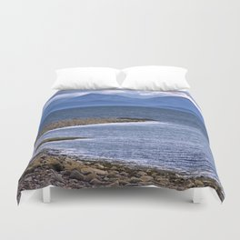 Over the Sea to Skye Duvet Cover