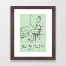 Stu-Stu-Studio Framed Art Print