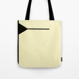 Black background Tote Bag