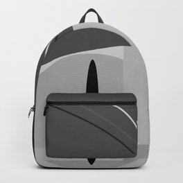 Color Block Grey White 178 Backpack
