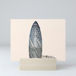 ArtWork Swiss Re 2 London UK Painting Mini Art Print