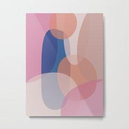 Minimal Abstract 5 Metal Print