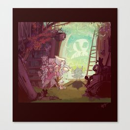 Bewitched! Canvas Print