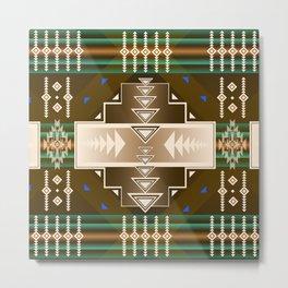 southwest chocolate Metal Print