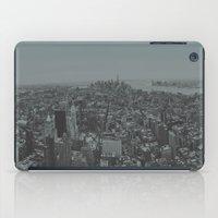 manhattan iPad Cases featuring Manhattan by Leah Flores