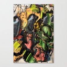Working Class Hero Canvas Print