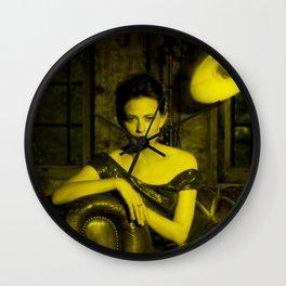 Lara Pulver - Celebrity (Photographic Art) Wall Clock