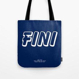 Howlin' Mad Murdock's 'Fini' shirt Tote Bag