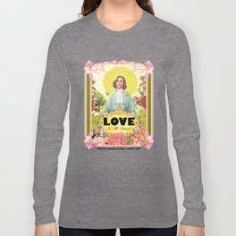 love is all around Long Sleeve T-shirt