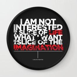 Slice of Imagination Wall Clock
