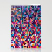 triangles Stationery Cards featuring Triangles by Ornaart
