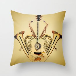Orchestrate Throw Pillow