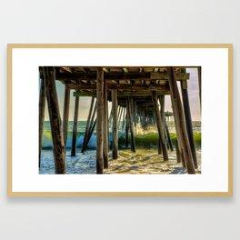 Outer Banks - Kitty Hawk - North Carolina Framed Art Print