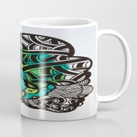 brain Mugs featuring Brain by Melisa Cole
