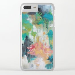 A Brighter Tomorrow Clear iPhone Case
